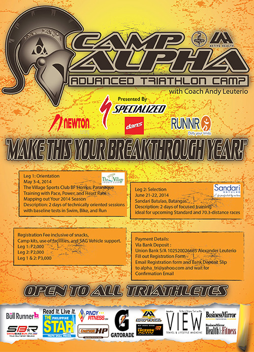 Sign up now for the Summer Edition of Unilab Active Health Camp Alpha